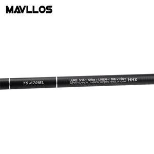 Image 3 - Mavllos במיוחד קצר נייד ספינינג טלסקופי חכת דיג 1.98m 2.28m 2.58m מהיר פעולה קל במיוחד ספינינג מוט מוט