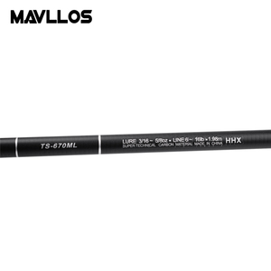 Image 3 - Mavllos Ultra short Portable Spinning Telescopic Fishing Rod 1.98m 2.28m 2.58m Fast Action Ultra Light Spinning Rod Pole