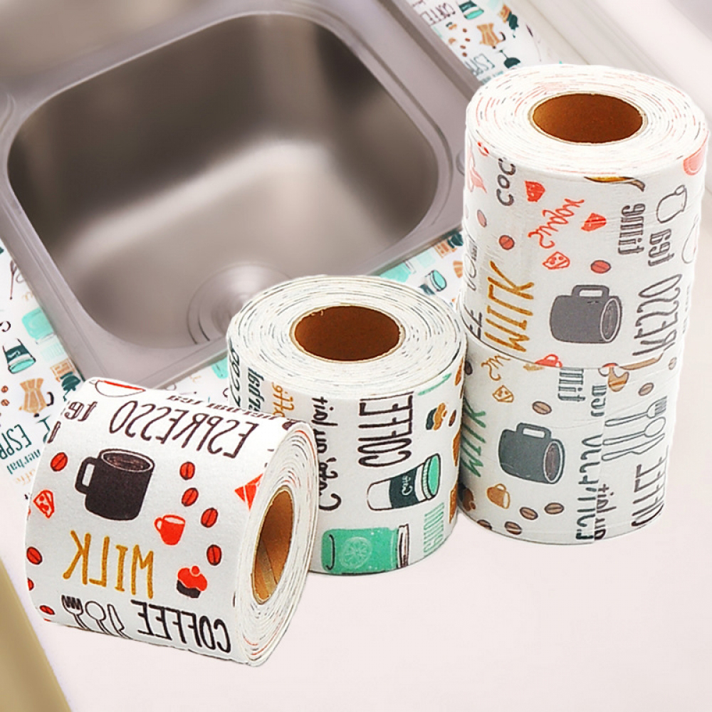 New Stickers Self-adhesive Water Absorption Dirt Waterproof Bathroom Toilet Water Dripping Absorbent Paste Stickers