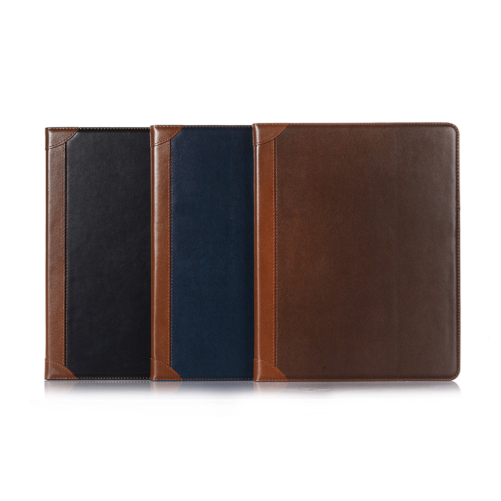 Pad iPad for Case Smart Book i 2020 Pro Leather iPad Case Folio 12 2018 Fold 9 PU for