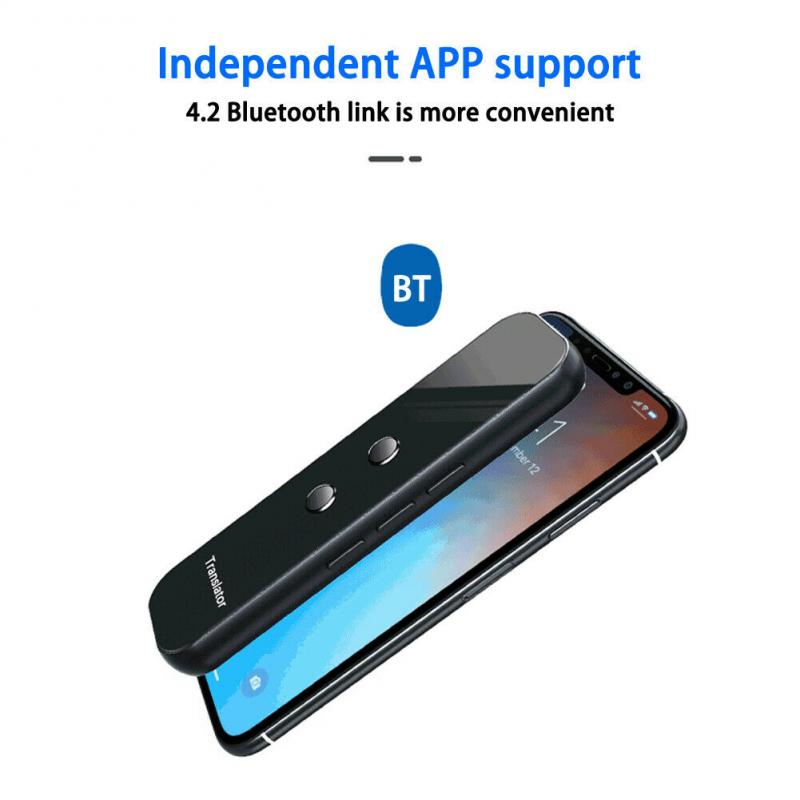 G6 Portable Pocket Language Translator for Voice and Text Translation of More Than 70 Languages in Instant Real Time with Mobile WIFI Hotspot 5
