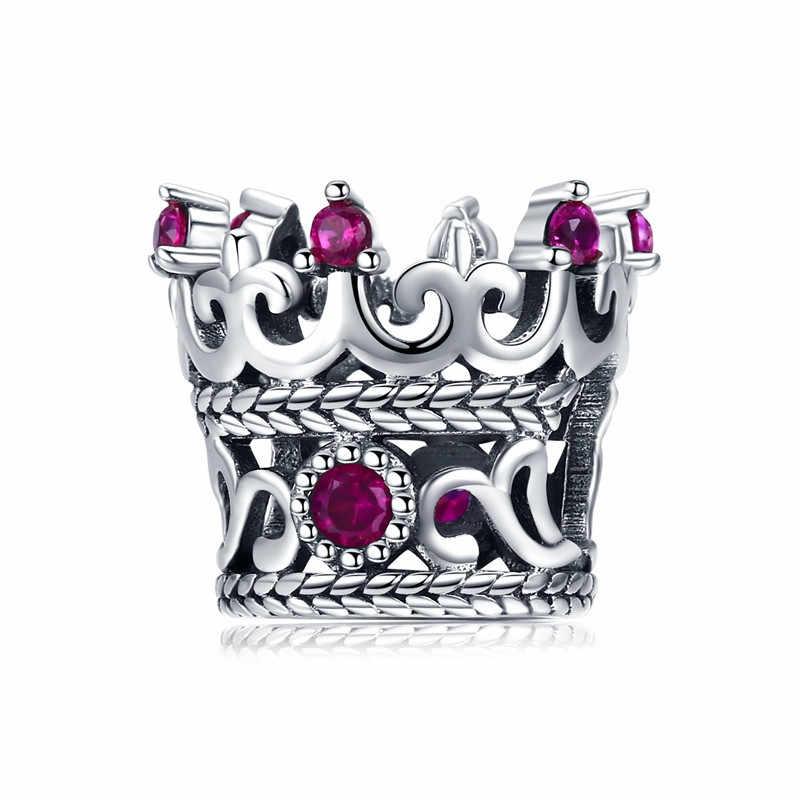 Wostu 925 prata esterlina sentimental snapshots charme contas caber pandora original pulseira pingente autêntico diy jóias femininas
