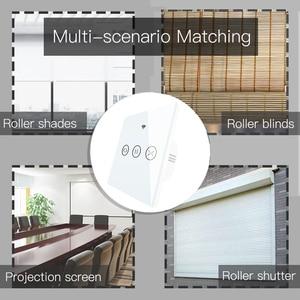 Image 3 - WiFi חכם וילון עיוור מתג חשמלי ממונע Tuya וילון רולר תריס עובד עם Alexa הד Google בית חכם בית