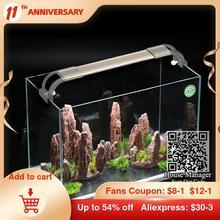 Aquarium-Light Water-Grass Fish-Tank Ultrathin LED for Curved-Bracket Beautiful Adjustable