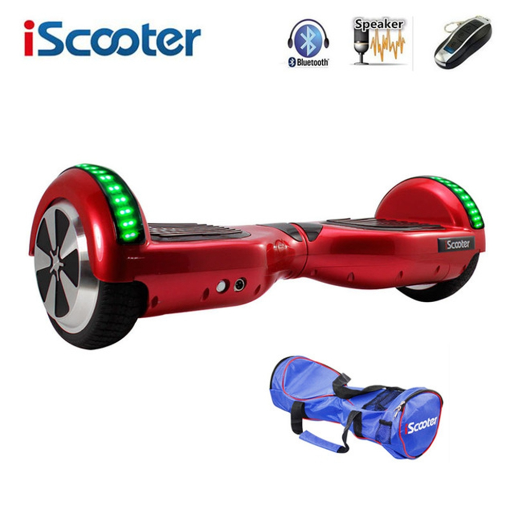 6.5 inch Electric Scooter Hoverboard  lithium Battery Bluetooth Electric Skateboard With LED Smart Hover Board A9 2
