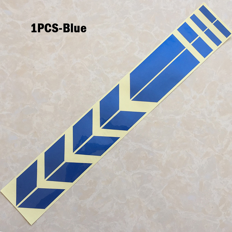 New 1pcs Motorcycle Reflective Stickers Motorcycle Stickers Flashlight Motorcycles Sticker Decoration