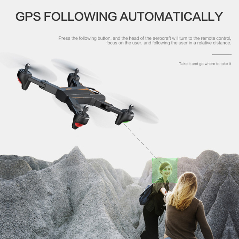 VISUO XS812 GPS RC Drone avec 1080 P/4 K HD caméra 5G WIFI FPV Altitude tenir une clé retour RC quadrirotor hélicoptère VS XS809S E58 - 3