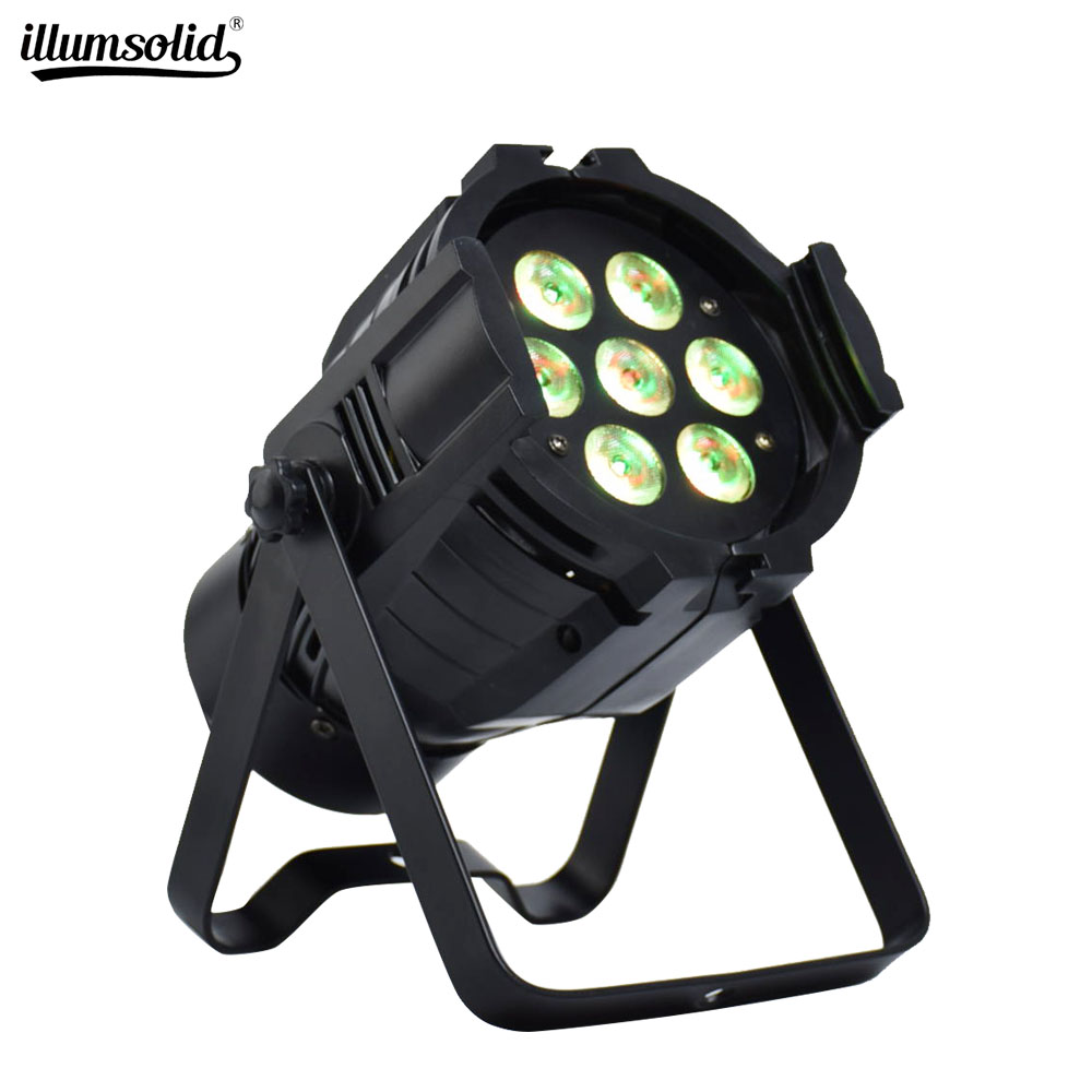 Cast Aluminum LED Stage Lights RGBW Wash Lights Dmx512 For Home DJ Club Disco Music Party Church Wedding Ceremony