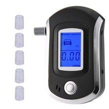 NewAT6000 цифровой тестер алкоголя в дыхании ЖК-анализатор Алкотестер с красочной коробкой горячая распродажа