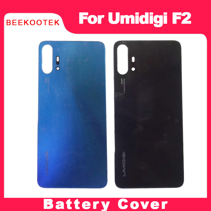 Original Housing Umidigi F2 PC Battery Back Cover Mobile Phone Replacement Parts Case