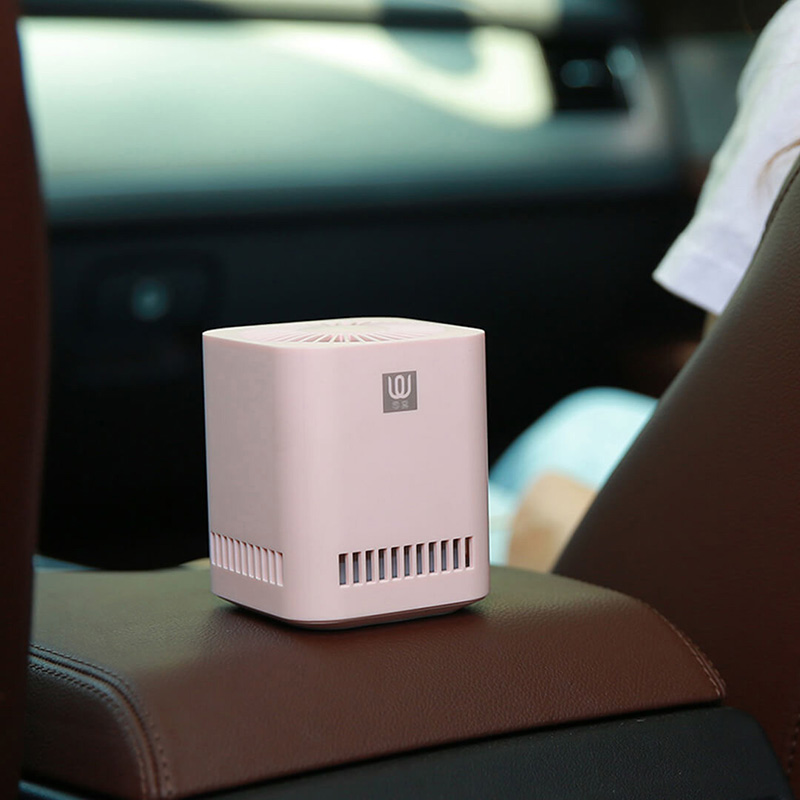 Image 3 - New XIAOMI MIJIA LingWu Air Purifier Miniature photocatalyst addition to formaldehyde wireless 2000mAh Battery Air Wash Cleaner-in Air Purifiers from Home Appliances