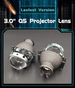 Image 2 - רכב סטיילינג 3.0 אינץ Q5 H7 Bi קסנון מקרן עדשת H7 HID קסנון/הלוגן/LED פנס LHD עבור פנס כוונון Retrofit