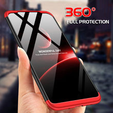 7 3 em 1 360 Hard Case de Luxo Para Nokia 6.1 Mais 2018 À Prova de Choque Caso Plástico Fosco Vidro Temperado Completa para Nokia 8.1X6X7