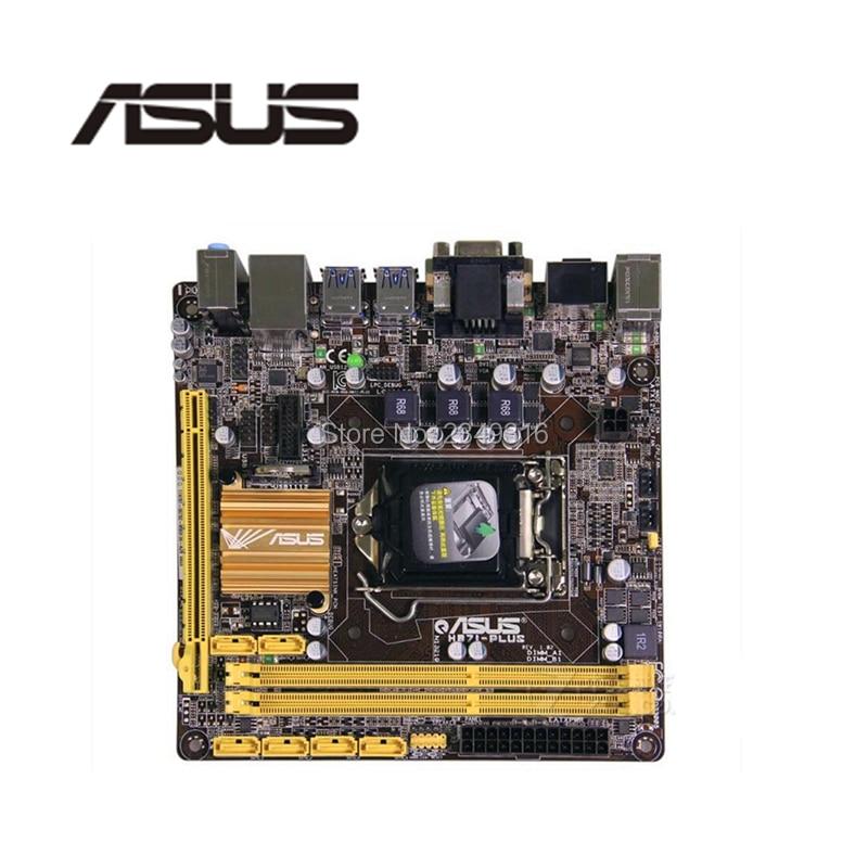 ASUS HTPC Mini-Itx PCI-E3.0 DDR3 Intel LGA1150 Sata3-For-Asus 17--17-Socket H87I-PLUS