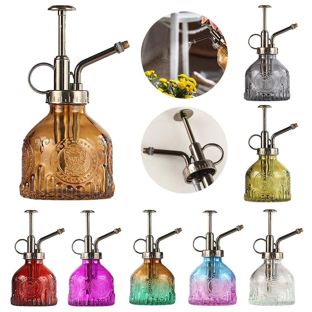 200 мл Стекло спрей бутылки анти-скольжения большой Ёмкость цветочная вода спрей бутылка Стекло Лейка для комнатного террариумов