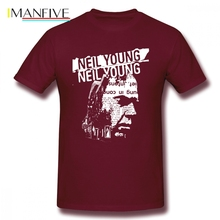 Neil Young New Style T Shirt Undertale Clothes Cotton Big Size Short Sleeve Custom Funny Shirts