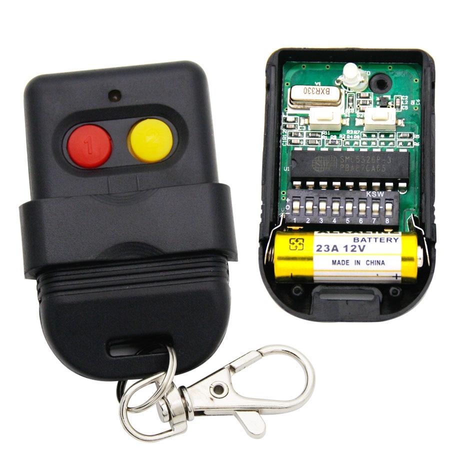 SMC5326 8dip schakelaar 330mhz 433 mhz SMC5326-P 330 433 mhz afstandsbediening voor garage gate deuropener afstandsbediening
