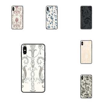 Black Soft TPU Protective Skin Laura Ashley Josette For Redmi Note 4 5 5A 6 7 8 8T 9 9S Pro Max Enjoy image