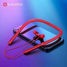 SANLEPUS Sport bezprzewodowe słuchawki Bluetooth słuchawki bezprzewodowe słuchawki douszne słuchawki z mikrofonem zestaw słuchawkowy Bluetooth na telefon komórkowy