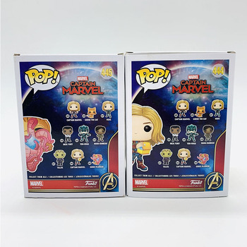 Funko Pop MARVEL CAPTAIN MARVEL #444 GOOSE(FLERKEN) #445 Vinyl Action Figure Dolls Toys 2