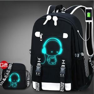School Backpack 3D Luminous An