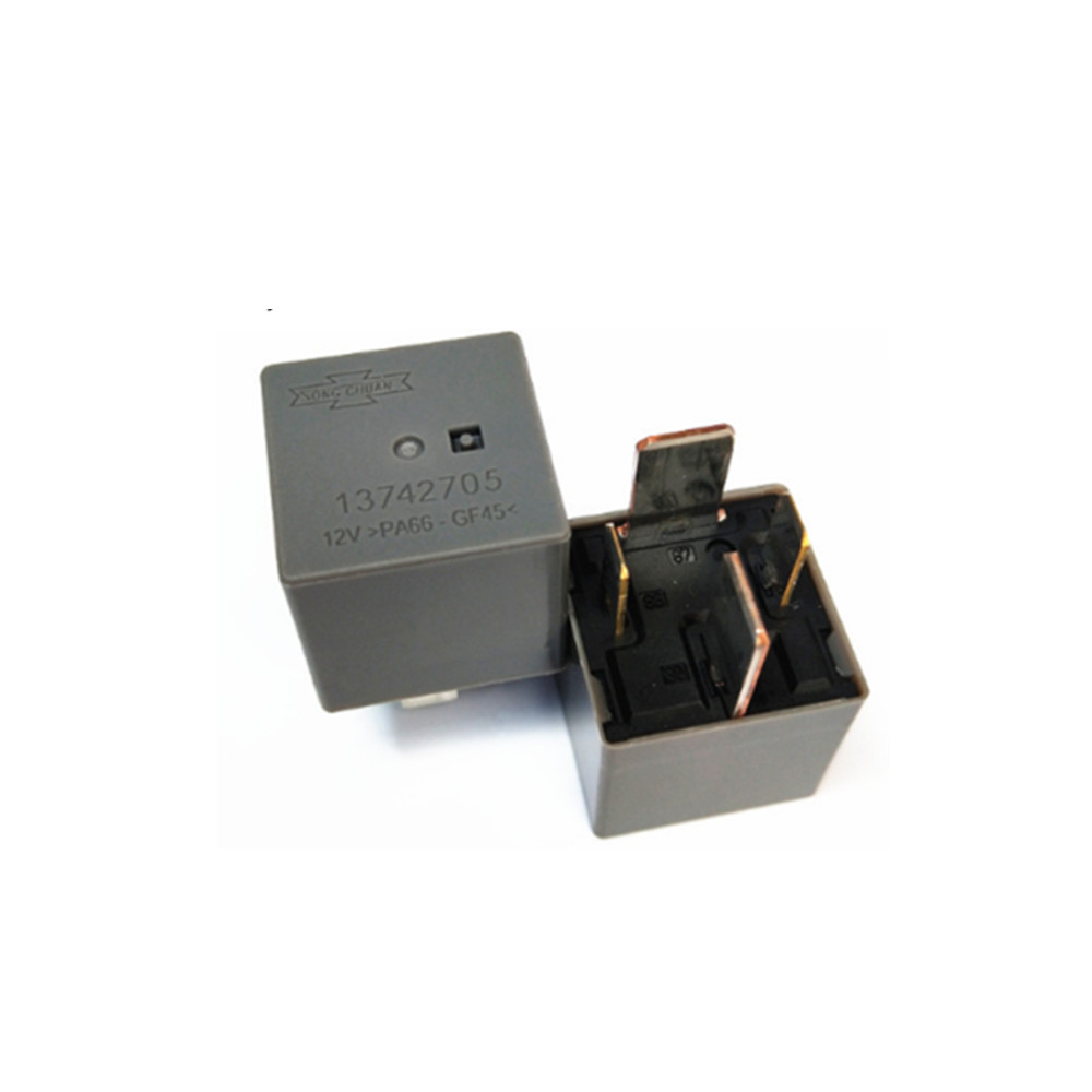 Wholesale Electronic Components Support BOM Quotation PA66-GF45 4 Feet 13742705 12V Relay