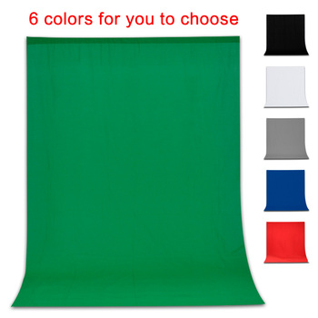 Photography Background Backdrop Smooth Muslin Cotton Green Screen Chromakey Cromakey Background Cloth For Photo Studio Video 1