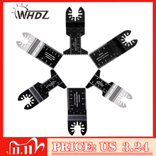 WHDZ 2pcs Universal Bi metal Precission Multitools Saw Blade Oscillating Multi Tools Electric Function Tool Parts Power Tool