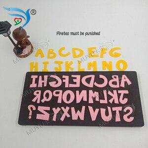 Image 3 - Matrice de découpe muyu, bricolage, nouvelle matrice de découpe de moule en bois pour scrapbooking MY3055, A Z