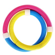 Hula Hoop Women's Adult Weighted Ring Waist Twister Seven Color Spring Soft Hula Hoop
