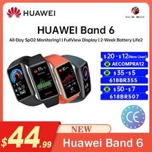 Smart Bracelet Huawei Band 6 Original SpO2 BT 5.0 Monitoring FullView Display 2 Week Battery Life Braccialetto Intelligente