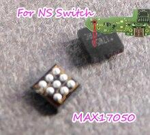 3pcs החלפת MAX17050 + 17050 MAX17050X + T10 BGA9 סוללה כוח זיהוי IC עבור Nintendo מתג