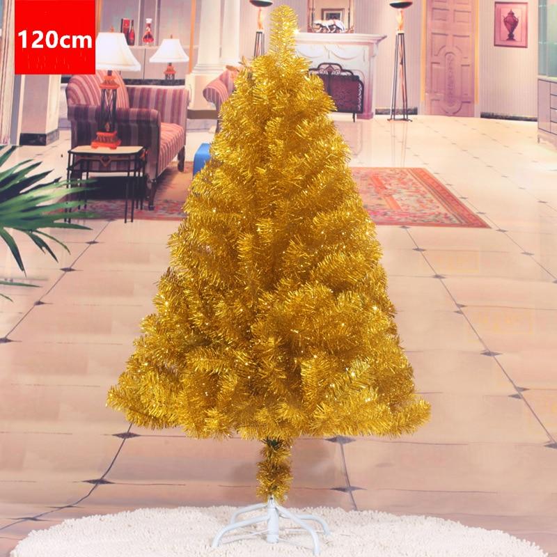 120cm décorations d'arbre de noël décoration or violet ornements d'arbre de noël décorations de noël pour la maison livraison gratuite