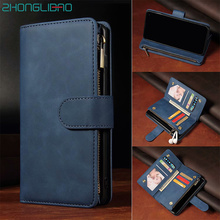 Flip Leather Case for Huawei P40 P30 Mate 30 Pro Honor 20 Pro 10i 20i 10 P20 Lite P Smart Plus Magnetic Card Wallet Phone Cover