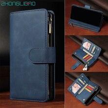 Étui en cuir à rabat pour Huawei P40 P30 Mate 30 Pro Honor 20 Pro 10i 20i 10 P20 Lite P Smart Plus carte magnétique portefeuille couverture de téléphone
