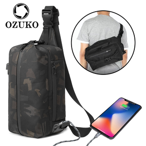 OZUKO New Chest Bags for Men M