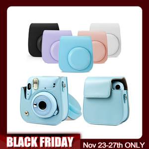 Cover Protective-Pouch Shoulder-Bag 11-Camera case Fujifilm Instax Mini Besegad PU