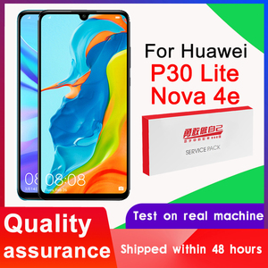 100% Tested 2312*1080 Display Replacement for Huawei P30 Lite Nova 4e LCD Touch Screen Digitizer Assembly MAR-LX1 LX2 AL01