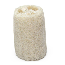 Natural Loofah Bath Body Sponge Bathroom Shower Exfoliating Scrubbers Brush Body Spa Massager Towel Off-White natural loofah sponge bath shower ball with brush white
