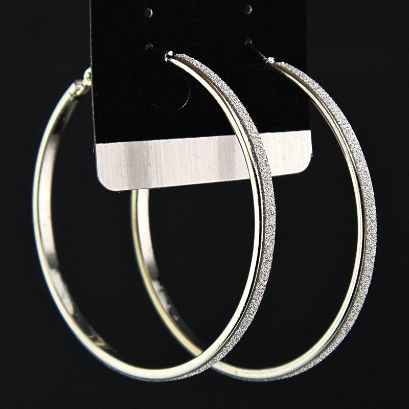 Лидер продаж, модные женские серьги-кольца с принтом зебры из матового серебра, большие вечерние ювелирные изделия, женские серьги в подарок