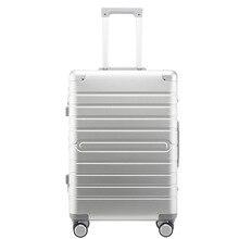 "Carrylove 100% อลูมิเนียมกระเป๋าเดินทาง20 ""24"" 28 ""Spinnerโลหะขนาดใหญ่รถเข็นกระเป๋าเดินทางล้อ"