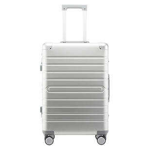 "Image 1 - Carrylove 100% Aluminium hand luggage 20"" 24"" 28"" spinner metal large hard trolley suitcase with wheels"