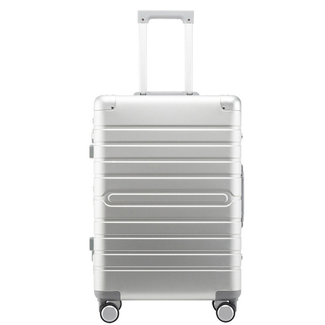 "Carrylove 100% Aluminium hand luggage 20"" 24"" 28"" spinner metal large hard trolley suitcase with wheels"