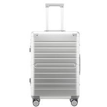 "Carrylove equipaje de mano de aluminio 100%, 20 ""24"" 28 "", spinner, Maleta de carro duro grande de metal con ruedas"
