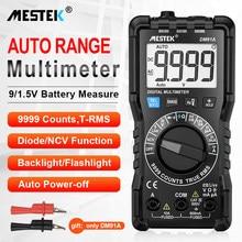 MESTEK DM91A mini digital tester multimeter mini pocket multi meter DC AC Voltage Current Tester Ammeter 9999 Counts Multitester