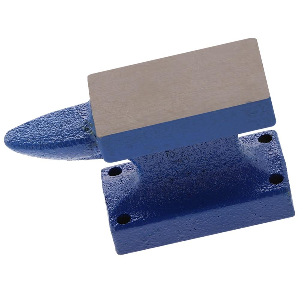 Horn Anvil Steel Block Jewelry Making Bench Tool Mini Forming Metalworking 6x3.3x9cm