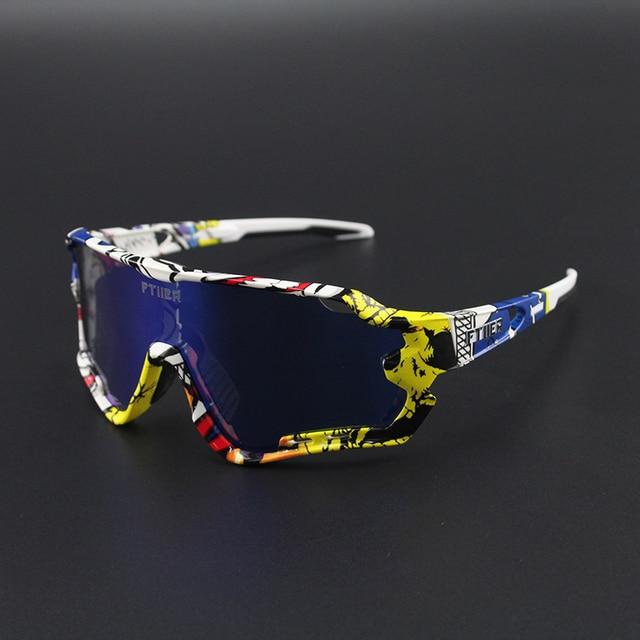 4 lente polarizada esportes ao ar livre da bicicleta óculos de sol gafas mtb ciclismo óculos peter homem 1