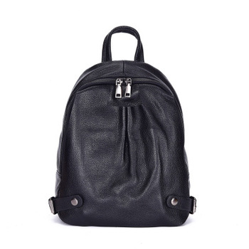 Women backpack high quality leather backpack mini backpack top selling on Promotion free shipping for girls 1