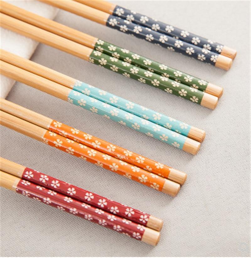1 пара многоразовых китайских классических деревянных планшетов, винтажные натуральные бамбуковые палочки ручной работы для суши, инструм...