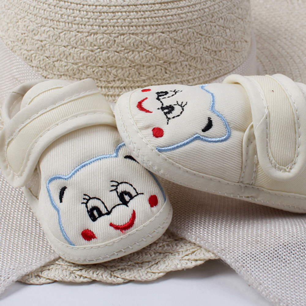 Huang Neeky #P501 2019 NEW Baby Girl Boy Soft First Walkers Sole Cartoon Anti-slip Shoes Toddler Shoes Hot Cute Drop Shipping